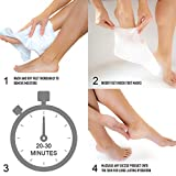 Cala Moisturizing foot masks 3 count, 3 Count