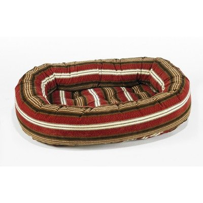 Bowser Stripe Bed - Bowsers Donut Bed, X-Large, Bowser Stripe