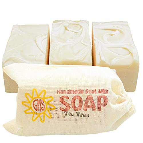 Goat Milk Soap - TEA TREE. All-Natural, Handmade by Goat Milk Stuff. Bars 5 oz. each, 4 Count