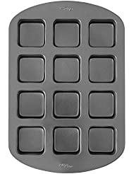 Wilton Non-Stick Brownie Bar Pan, 12-Cavity Brownie Pan