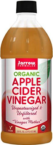 Jarrow Formulas Organic Apple Cider Vinegar, 5% Full Strength Acidity, 16 fl. Oz. (473 ml)