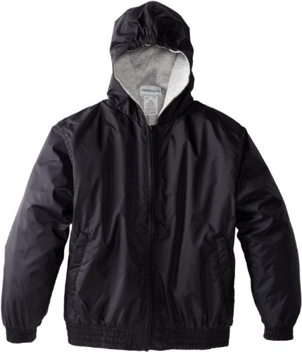 CLASSROOM Big Boys' Uniform Lined Bomber Jacket, Black, X-Large Uniform Jacket