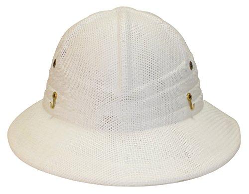 (Mann Lake Vented Beekeeping Helmet, White)