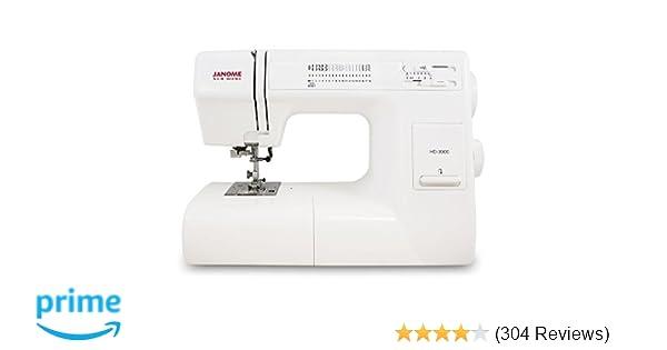 Amazon Janome HD40 HeavyDuty Sewing Machine With 40 BuiltIn Custom Janome Sr 2000 Sewing Machine