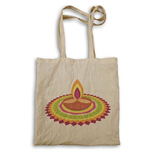 Diwali Wishes Design Tote bag q661r by INNOGLEN