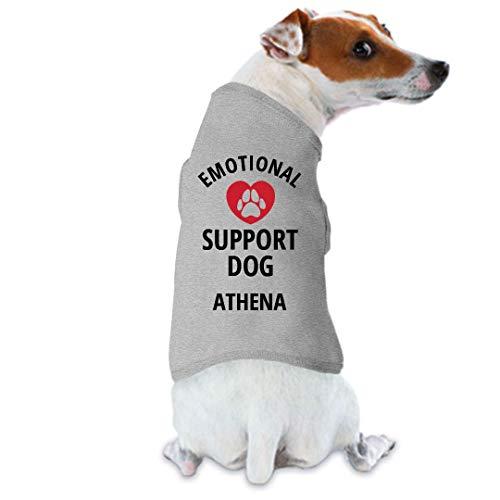 FUNNYSHIRTS.ORG Emotional Support Dog Athena: Dog Tank Top