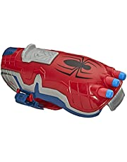 NERF Power Moves Marvel Spider-Man Web Blast Web Shooter NERF Dart-Launching Toy for Kids Roleplay, Toys for Kids Ages 5 and Up