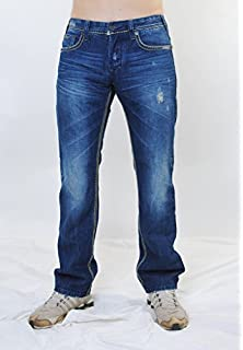 Mens Nick Loose Fit Jeans Mod8 RJSrnW