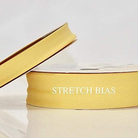 Higgs & Higgs - Elástico Liso Bies - 30mm - Amarillo 65 - Algodón Cinta Ribete Técnica de Acolchado - 5 metres: Amazon.es: Hogar