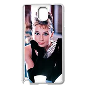 Samsung Galaxy Note 3 Cell Phone Case White Audrey Hepburn A38438287