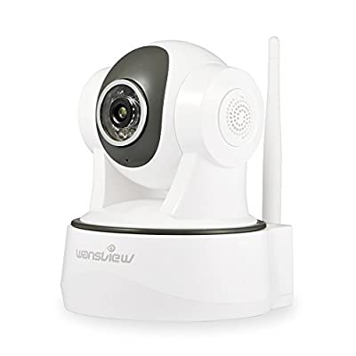 Wansview 1080P WiFi Wireless Security IP Camera, Pan/Tilt, Plug/Play,Two-Way Audio & Night Vision Home Surveillance Camera with Baby Monitor Video by Wansview