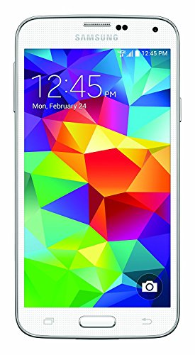 Samsung Galaxy S5 G900A 16GB - AT&T (Renewed) (White)