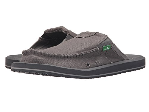 Sanuk Hombres M You Got My Back Ii Sandalia Slip-on (10 D (m) Us / 43 Eur, Gris)