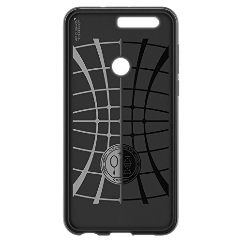Spigen Rugged Armor Honor 8 Case with Resilient Shock Absorption for Huawei Honor 8 2016 - Black by Spigen (Image #6)