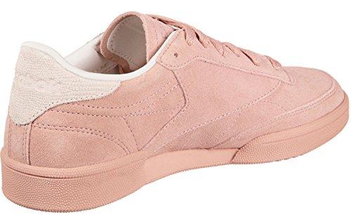 Rosa De Reebok Pink Nbk chalk Niñas pale 000 Zapatillas 85 Para Pink Club Tenis C wpSqpXz