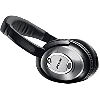 Bose QC15 Over-Ear Wired Headphones (Black) - Refurbished