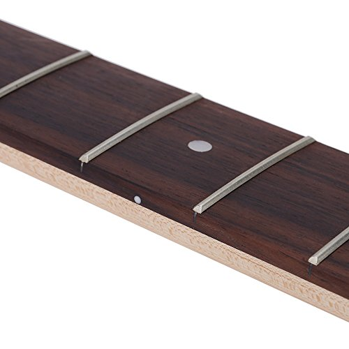ammoon 21 Fret Bass Maple Neck Rosewood Fingerboard for Fender JAZZ Replacement by ammoon (Image #3)