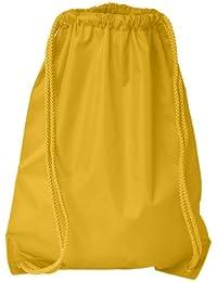 Boston Drawstring Backpack_Bright Yellow_One