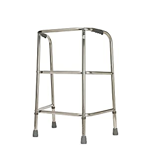 Heavy Duty Adjustable Walking Frame - Max User Weight 220 kg (35 stone) (Eligible for VAT relief in the UK) 1
