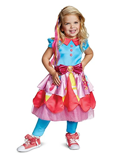 Disguise Sunny Deluxe Toddler Child Costume, Multi Color, Large/(4-6x) -