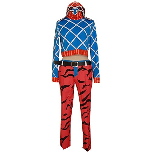 Anime Guido Mista Cosplay Costume Uniform Halloween Party -
