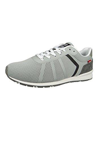 Levis 227799-756-54 Herren Sneaker Schuhe Almayer Grau Light Grey Light Grey