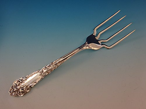 French Renaissance by R&B Sterling Silver BBQ Serving Fork 7 3/4