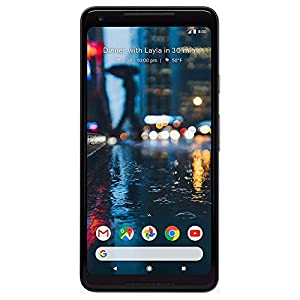 Google Pixel 2 XL 64 GB, Black (Renewed)