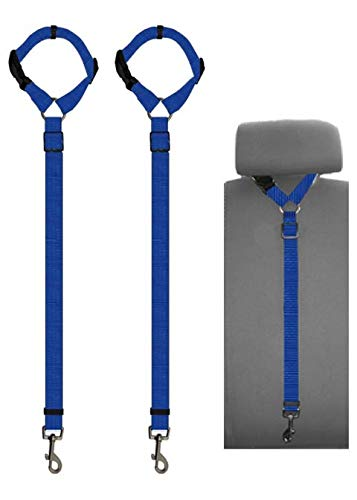 Amazon Com Doggy Car Headrest Restraint Animal Safety Seat Belt