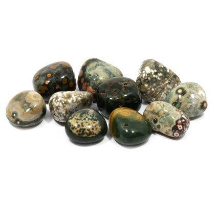 Crystal Ocean Jasper (CrystalAge Ocean Jasper Tumble Stone (20-25mm) - Pack of 5)