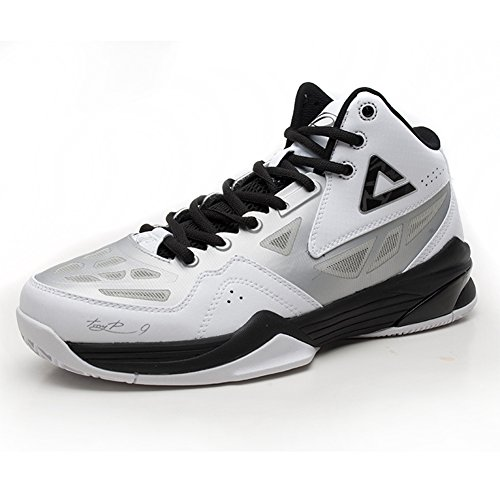 White Basketball TRAINER Parker Silver Tony Shoes Professional PEAK Mens wtB0qX4