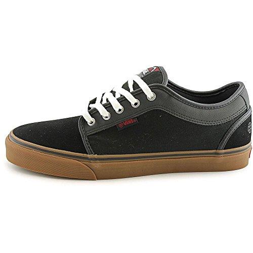 11d7fa9268 Vans Chukka Low Skate Shoes (Independent) Black