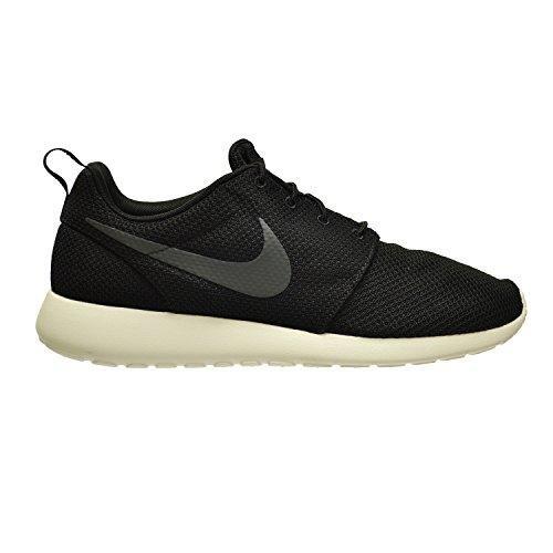 Nike Men's Rosherun Black/Anthracite/Sail Running ShoeÊ (Nike Roshe Run Siren Red For Sale)