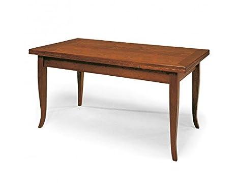 Tavoli In Legno Rustici Per Esterno : Tavolo in legno da 120x80 2 all: amazon.it: casa e cucina