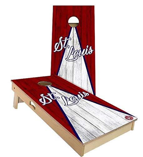 即納!最大半額! Skip's Garage セントルイス トライアングル 野球 A. セントルイス (Corn コーンホールボードセット - サイズとアクセサリーをお選びください - ボード2枚 バッグ8枚 B07N4C5TYT A. 2x3 Boards (Corn Filled Bags)|C.付属品 (2) コーンホールボード ライト A. 2x3 Boards (Corn Filled Bags), KUTU-KUTU:55c18145 --- staging.aidandore.com
