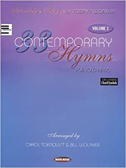 Book 33 Contemporary Hymns for Solo Piano, Volume 2