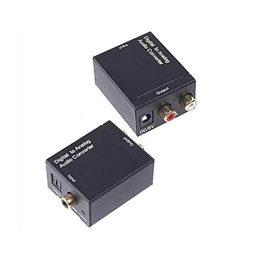 profectlen-US Digital Optical Coaxial Signal to Analog Audio Converter Audio Converter