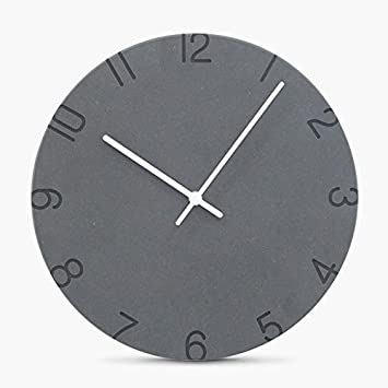 WANGPENG Bricolaje Moderno Gran Reloj de Pared Reloj Grande Adhesivo Pegatinas en 3D para Decorar Salón Dormitorio: Amazon.es: Hogar