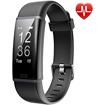 Fitness Tracker Bluetooth 4 0 Heart Rate Monitor Bracelet IP67 Waterproof Touch Screen Smart Wristband Pedometer Sports Activity Tracker Smart Watch for Android and IOS Smartphon Estimated Price £37.08 -
