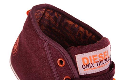 Diesel Sneaker Donna High Scarpe con lacci scarpe bordeaux #6
