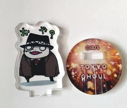 Amazon.com: Tokio Ghoul acrílico Mini Soporte Figura Shiki ...