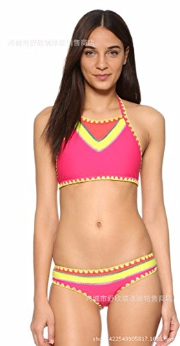 Gk Swimming Costumes Are Wave Pattern Colour Matching European