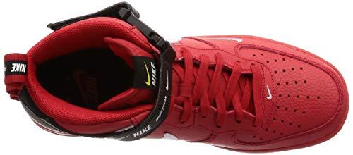 Yellow Baloncesto De university tour Zapatillas Nike '07 white Hombre Red Force 1 Multicolor Mid 605 Lv8 black Para Air x8fTBR