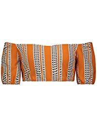Amira Pouf Top Orange
