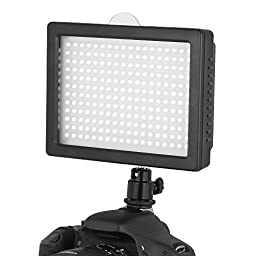 Chromo 216 LED CI-216 Dimmable Ultra High Power Panel / Camcorder Video / Digital SLR Camera LED Light  for Canon, Nikon, Pentax, Panasonic,SONY, Samsung and Olympus Digital SLR Cameras