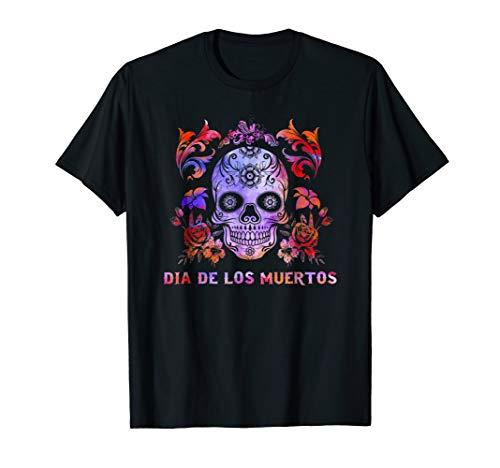 Day of the Dead t shirt dia de los muertos shirt gift
