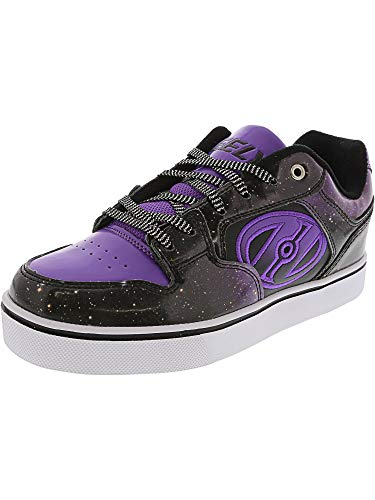 Heelys Kids Motion Black/Purple/Galaxy Sneaker - - Girls Shoes Black Heely