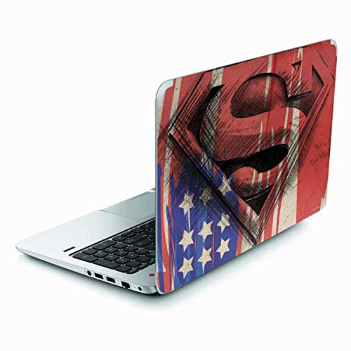 Skinit Superman Crest Envy TouchSmart 15.6in Skin - Officially Licensed Warner Bros Laptop Decal - Ultra Thin, Lightweight Vinyl Decal Protection