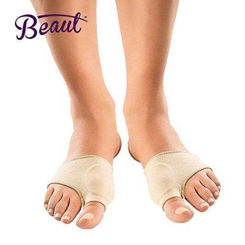 Bunion Corrector - Bunion Toe Straightener and Bunion Relief Detox Sleeve Bunion Pad with EuroNatural Gel - Orthopedic Bunion Corrector and Metatarsal Pad for Hammertoe and Hallux Valgus (Small) Photo #3