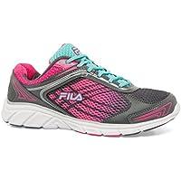 Fila Women's Memory Narrow Escape Cross-Trainer Shoe (Castlerock/Aruba Blue/Pink Glow) - Open Box